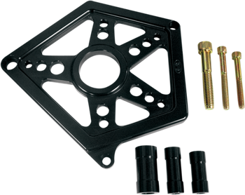 Joker Machine - Front Sprocket Cover - Black Anodized fits '04-'17 XL Models