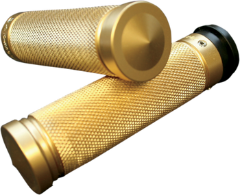 Accutronix - Custom Grips - Knurled Brass Dual Cable  fits HD Models (see desc.)