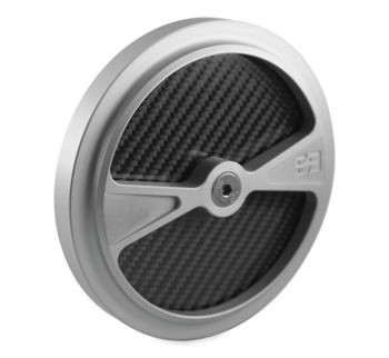 "Brass Balls Cycles - F1 Air Cleaner Cover - 5.5"" (choose finish)"