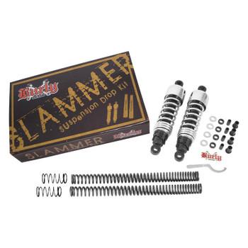 Burly Brand - Chrome Slammer Suspension Lowering Kit - fits '88-'03 Sportster