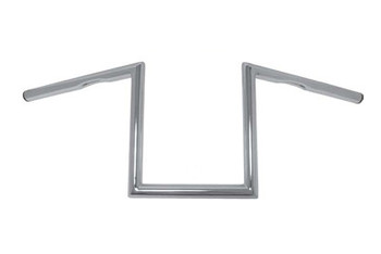 HardDrive - Traditional Z Bars -  Chrome, Dimpled fits '82-Up applications