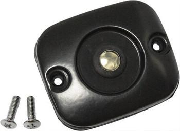 HardDrive - Master Cylinder Cover - Black fits '96-'06 HD Models