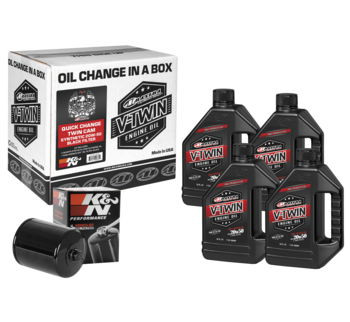 Maxima - Quick Change Twin Cam Synthetic 20W-50 Filter Kit