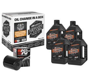 Maxima - Quick Change Evo-Sportster Mineral 20W50 Filter Kit