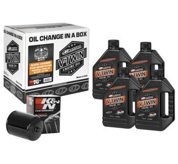 Maxima - Quick Change Evo-Sportster Mineral 20W50 Filter Kit