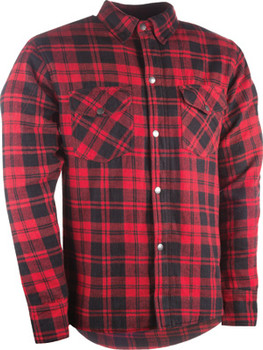 Highway 21 Marksman Riding Flannel - Red