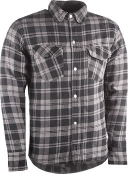 Highway 21 Marksman Riding Flannel - Grey