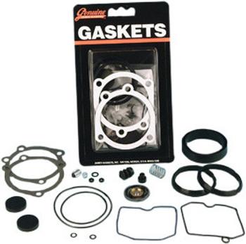James Gaskets - Carb Rebuild Kit - fits All Keihin CV Carbs '90-Up
