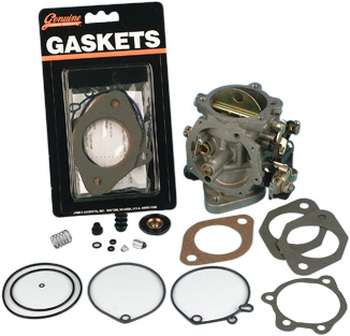 James Gaskets - Carb Rebuild Kit - fits All Keihin CV Carbs '76-'89