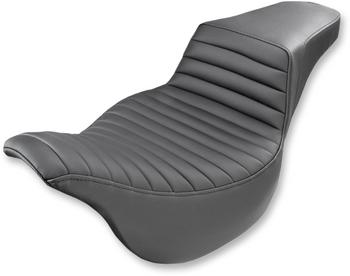 Saddlemen - Step-Up Tuck and Roll Seat - fits '08-'17 FLHT/FLHR/FLTR/FLHX