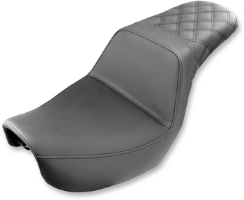 Saddlemen - Step-Up Rear Diamond Stitched Seat - fits Dyna Models