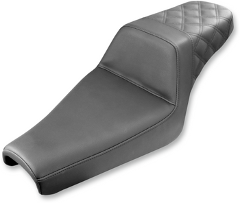 Saddlemen - Step-Up Rear Diamond Stitched Seat - Fits '06-'20 XL