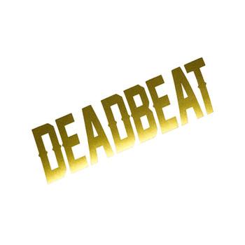 Deadbeat Customs - Deadbeat Vinyl Decal - Gold