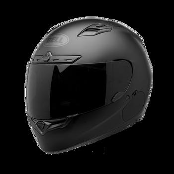 Bell Helmets - Bell Qualifier DLX  Black Out Helmet - Matte Black
