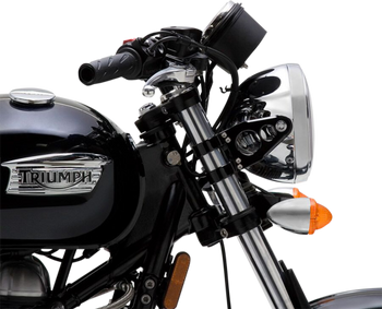 British Customs - Billet Headlight Ears for Triumphs