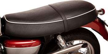 British Customs - Retro Seat Skins - fits Bonneville, Scrambler, Thruxton