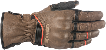 Alpinestars - Cafe Divine Drystar Leather Gloves - Brown/Black