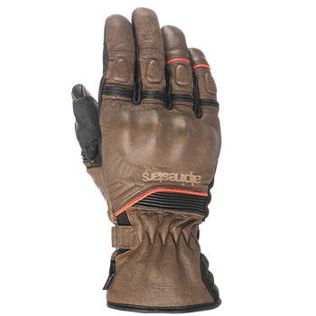 Alpinestars - Cafe Divine Drystar Leather Gloves - Brown/Black