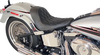 Roland Sands Design - Boss Solo Seat - fits '06-'10 FXST, '07-'17 FLSTF/B