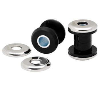 Arlen Ness - Polyurethane Handlebar Damper Kit - fits '84-'17 FLH