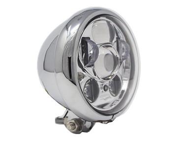 "Motorcycle Supply Co. - LED 5 3/4"" Headlight - Chrome"