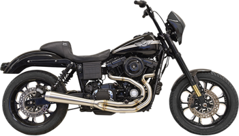 Bassani - Road Rage III 2-into-1 Exhaust System Stainless Steel - fits Harley FXD Dyna