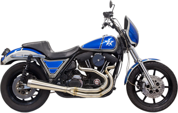 Trask - Assault 2 into 1 Stainless Exhaust - fits '84-'00 FXR