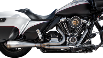 Trask - Assault 2 into 1 Stainless Exhaust - fits '17-Up M8 FL