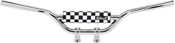 Biltwell - Moto Bar Pad - Checkers/Script Black