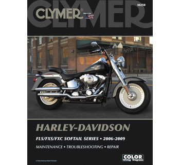Clymer - Manual for '06-'09 Harley Davidson FLS,FXS,FXC Softail Series