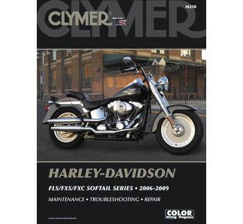 Clymer - Manual for '06-'09 Harley Davidson FLS,FXS,FXC Softail Series