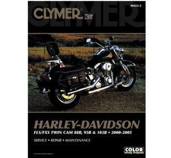 Clymer - Manual for '00-'05 Harley Davidson FLS,FXS Twin Cam