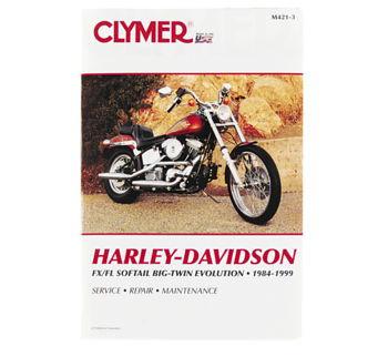 Clymer - Manual for '84-'99 Harley Davidson FLS,FXS Big Twin Evolution
