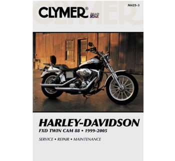 Clymer - Manual for '99-'05 Harley Davidson Dyna Twin Cam