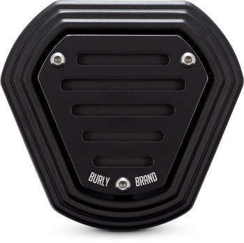 Burly Brand Hex Air Cleaner - fits '93-'06 FLH,FLT,FXST,FLST,FXD w/ CV Carb & '01-'17 w/ EFI