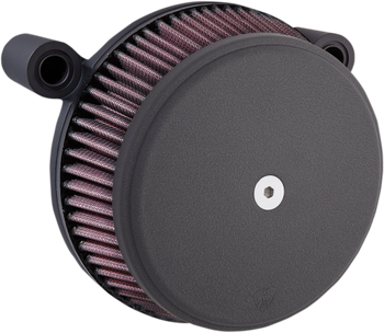 Arlen Ness - Stage 1 Big Sucker Air Cleaner Kit fits '01-'17 Twin Cam EFI Models & '99-'06 CV Carb - Cable Throttle