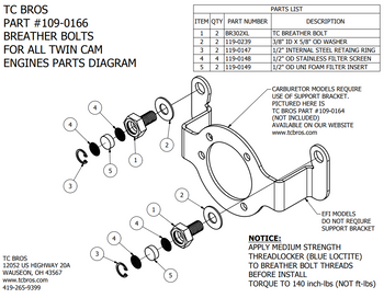 2 4 twin cam engine and trans bolts diagram wiring diagram library 2 4 twin cam engine and trans bolts diagram tc bros choppers air cleaner carb support bracket tc bros choppers breather bolts fits harley davidson