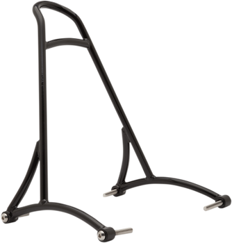 Burly Brand - Short Sissy Bar - fits '06-'17 Harley Dyna - Black or Chrome