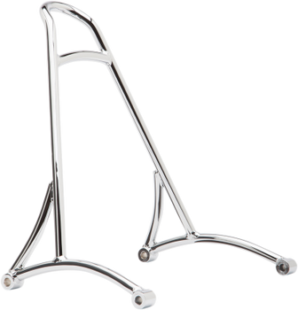 Burly Brand - Short Sissy Bar - fits '06/'17 Harley Dyna - Black or Chrome