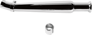 EMGO Bell-End Megaphone Mufflers - Chrome