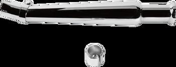 EMGO Bell-End Megaphone Mufflers - Chrome