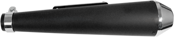 EMGO - Shorty Megaphone Muffler - Flat Black