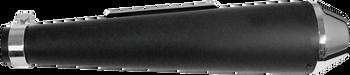 EMGO - Shorty Megaphone Muffler - Flat Black
