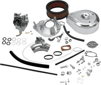 S&S - Super G Shorty Carburetor Kits - With or Without Manifold