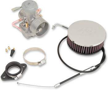 Sudco - 38mm Carb Kit - fits '66-'89 Big Twin and '57-'85 XL Models