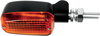 K&S Technology Inc. - Marker Lights - Oblong - Black Satin