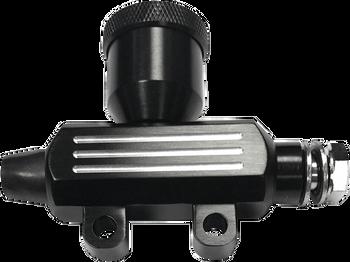 Drag Specialties - Solo Custom Mini Rear Master Cylinders - Black or Chrome