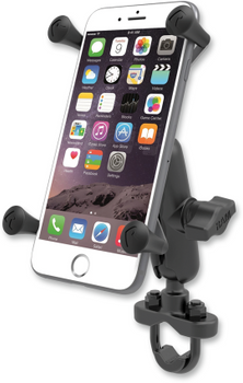 RAM Mounts - Handlebar Rail Mount - for Large Phone