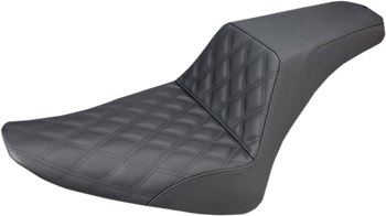 Saddlemen - Step-Up Diamond Seat - fits '12-'17 FLS Models
