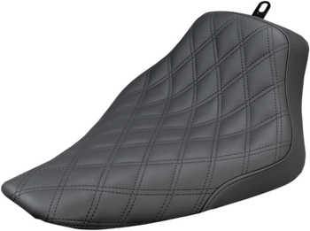 Saddlemen - Renegade Diamond Stitched Seat - Black or Brown fits '12-'17 Harley FLS Softail